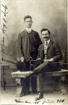 David and Heinrich Schmerling, 1906 (?)