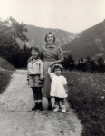 Erwin, Lilly and Flora, Zemmering holidays 1936