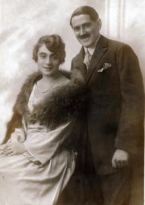 Lilly & Gustav Bratspies, September 1922