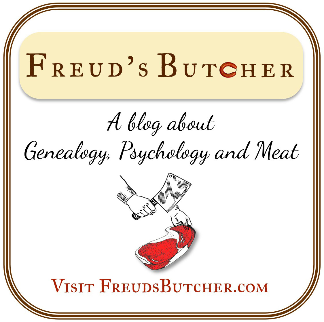 FreudButcher.com badge