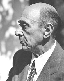 Arnold Schoenberg, via Wikimedia Commons