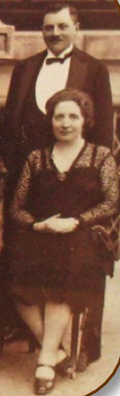 Gigi's grandparents, Rudolf and Molly Kornmehl