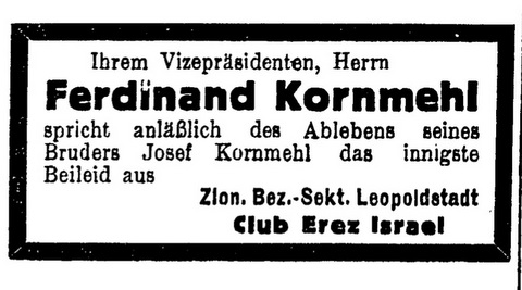 Ferdinand Kornmehl ad copy