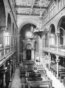 Interior of the Polish Synagogue, Vienna