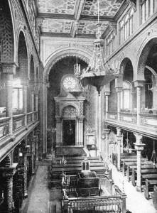 Interior of the Polish Synagogue, Vienna