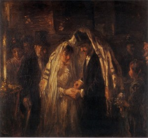 Josef Israëls A Jewish Wedding (but not that of Ezriel and Ernestyna)