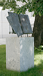 The Medical University of Vienna (eventually) put up a monument to the Jewish victims of National Socialism