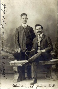 brothers David and Heinrich Schmerling, 1906