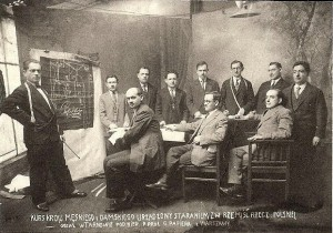 Jewish tailors in Tarnow - 1928. Original in YIVO NYC Collection