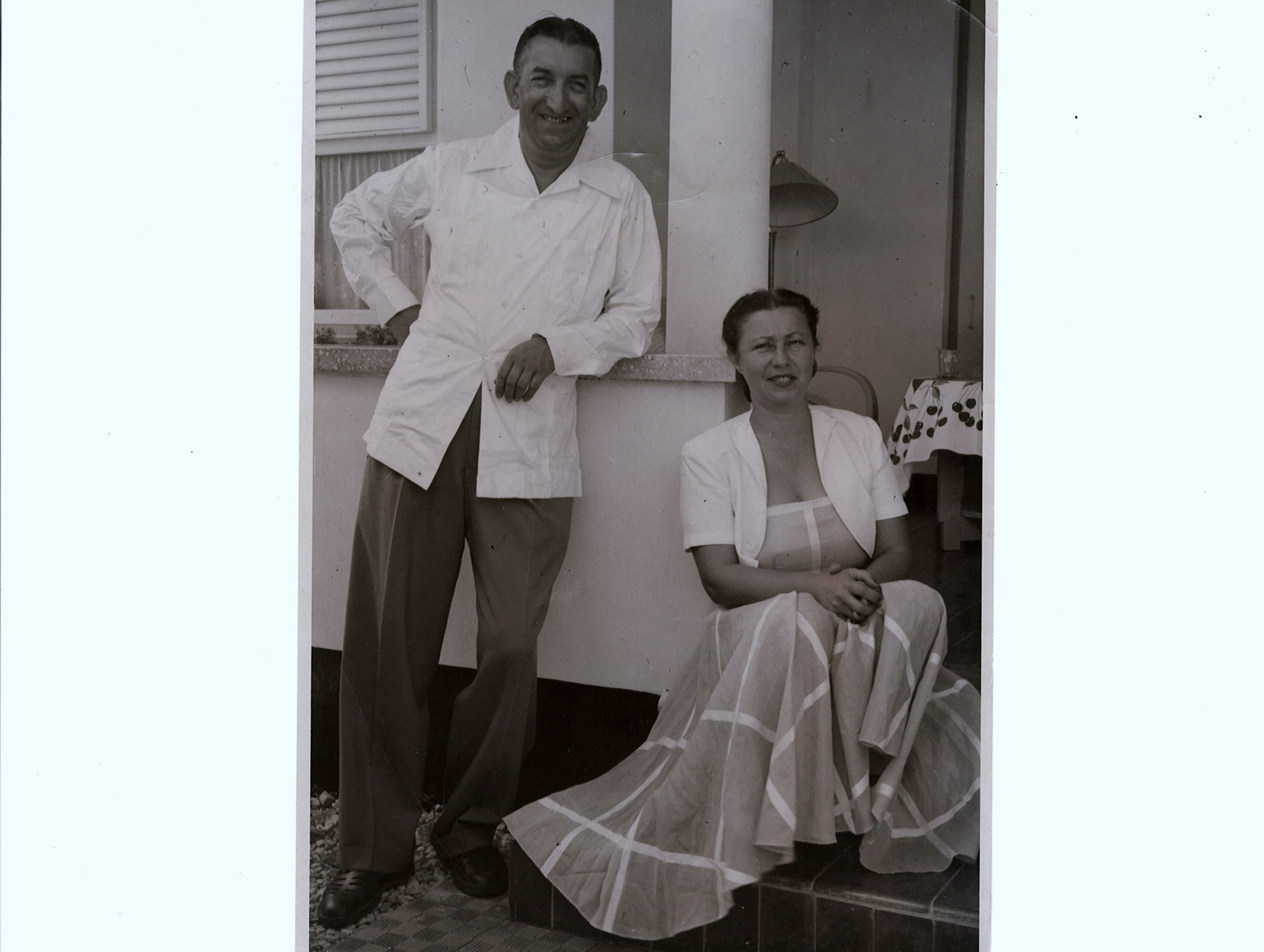 Manfred Wolf's Parents 1938