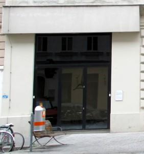 Art Gallery cum-butcher-shop
