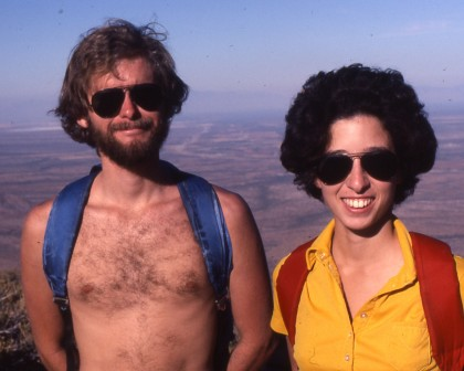 Dave and Jean, ca 1981
