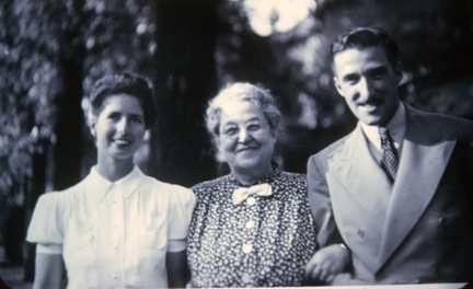 Louise Manning, Jean's mother, her grandmother, and father