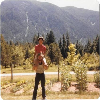 Summer 1984, Troy, Montana