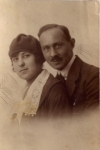 Lily and Heinrich Schmerling, 1920