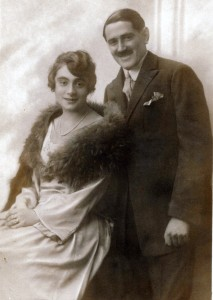 Lilly & Gustav Bratspies, September 1922