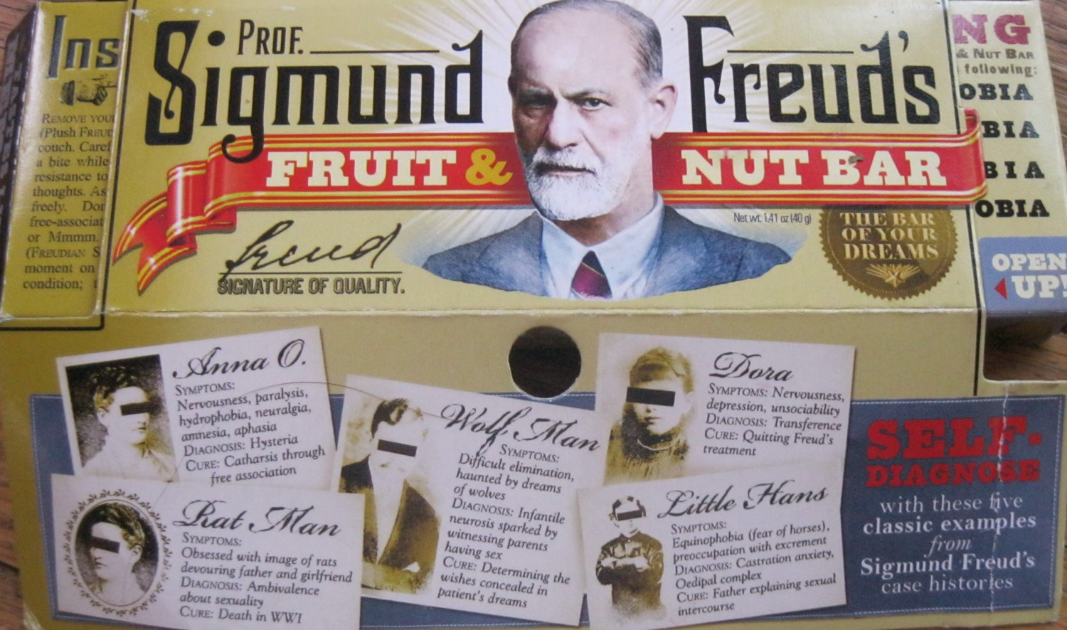 Freud's Fruit and Nuts