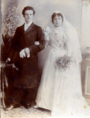 Grandparents' wedding 1896