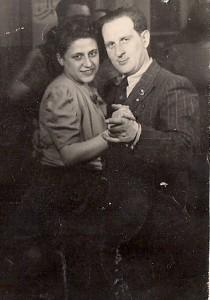 Nathan and Frances Kornmehl ca. 1947