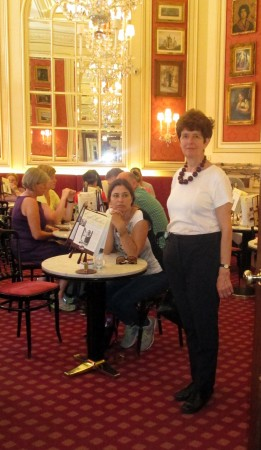 Cafe Sacher Aurelia Young