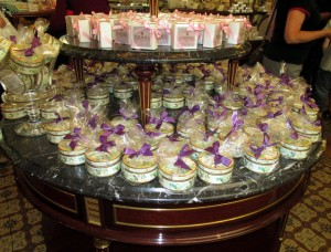 Violet candy cafe Demel
