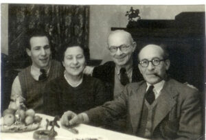 Erwin, Lilly, Uncle Lewis, Heinrich